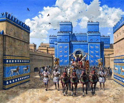 In Babylon quot ishtar gate in babylon around the time of nebuchadnezzar