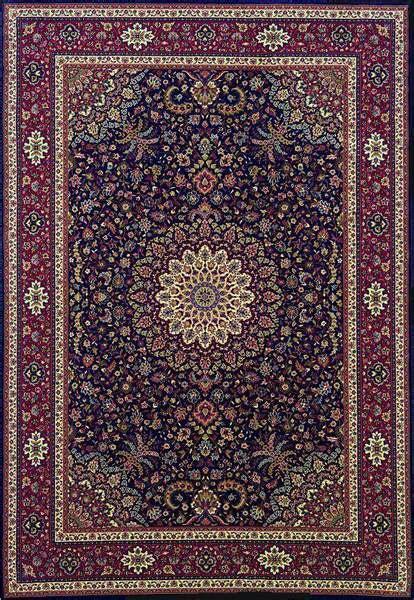 ariana  blue red rug