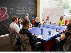 Table Tennis Meeting Table 100 Fastest Growing Inner City Businesses Marketing Conference Room And Offices
