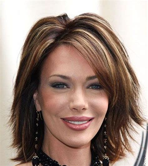 highlights 40s women hair color ideas for brunettes with certain
