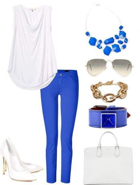 18443 Pink Relax N Casual white and royal blue summer for