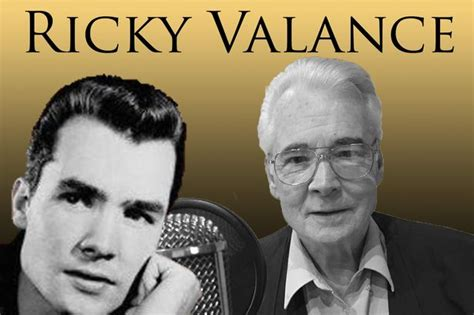 Ricky Valance Hits sixties chart topper who made rock and roll history wants