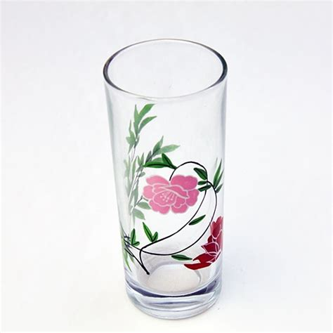 Glassware Wholesale Different Types Painted Glass Wholesale
