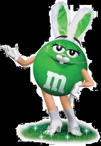 green mm easter bunny happy easter animation happy