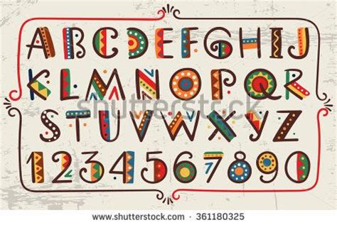 design font ethnic 1234 best images about words letters on pinterest