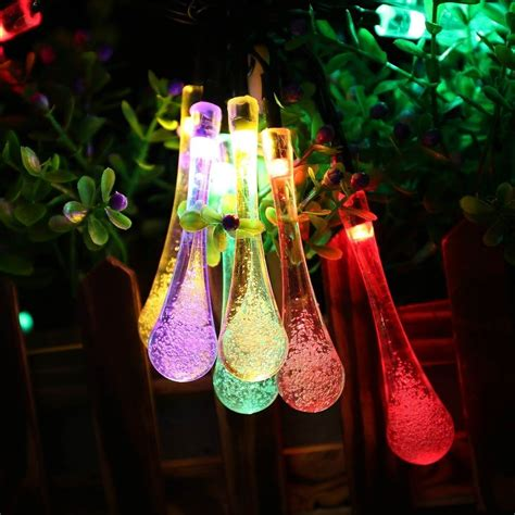 solar power string lights outdoor outdoor solar string lights adorable home