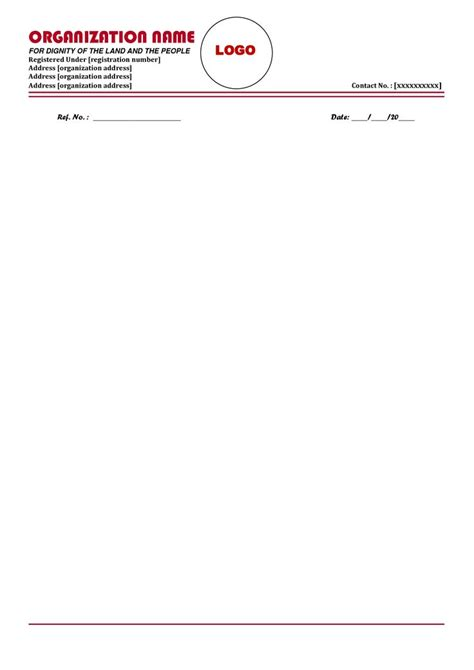 business letterhead templates indesign the 25 best company letterhead template ideas on
