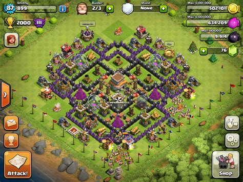 coc layout for th8 need a th8 base we provide you with a th8 base coc blog
