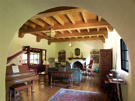 spanish style home interior spanish colonial revival lzscene
