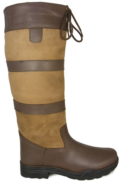 mens winter boots wide new mens winter stable leather regular wide