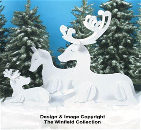 pattern for wood reindeer reindeer sleighs resting reindeer family patterns