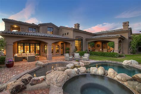 Home Decor Scottsdale Custom Golf Course Home For Sale In Dc Ranch North