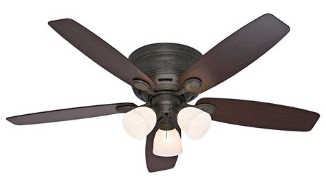 hunter brand ceiling fans hunter bayview provencal ceiling fan with light kit review