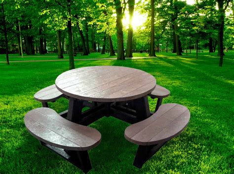 buy picnic bench round picnic table round picnic table designs nucleus