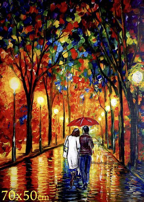 cuadros fotos paraguas rojo 88 cuadros a 8 euros