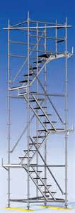 Stair Tower Scaffolding by Stairs And Temporary Access From Layher Modular
