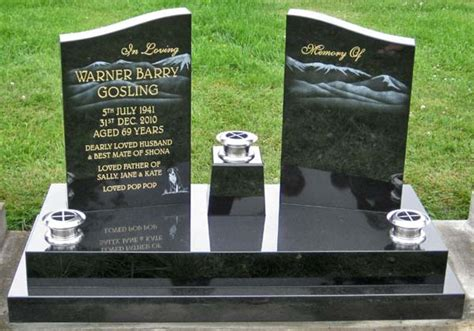 headstone layout exles unique headstone designs gosling jpg pinteres