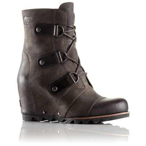 womans boots sorel joan of arctic wedge mid boots s evo