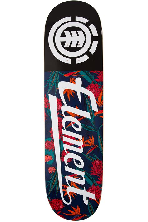 element skateboard decks for sale element sketch floral script 8 25 quot deck buy at skatedeluxe