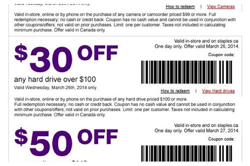 coupons that can print from ipad