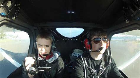 Skycatcher Cabin by Flight In A Cessna 162 Skycatcher With Cockpit Audio