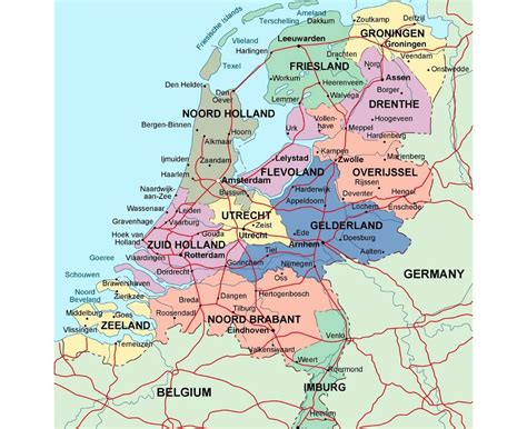 maps  netherlands collection  maps  holland