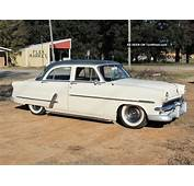 1953 Ford Customline Sedan  Driver