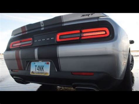 2015 dodge challenger srt 392 exhaust youtube