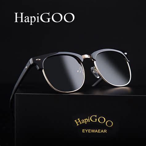 Ori Sunglass Retro Aluminumtr90 Vintage For Menwomen hapigoo vintage half frame polarized sunglasses brand designer retro g15 coating