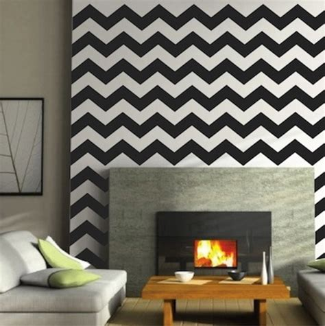 trendy wall designs chevron wall decals trendy wall designs