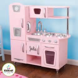 Kidkraft 53179 pink vintage kitchen personalized