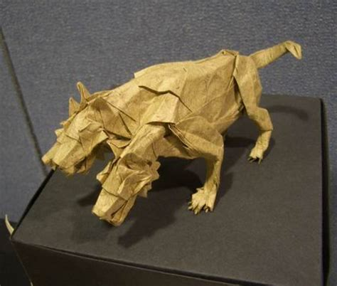 Origami Cerberus - tanteidan 15th convention book review gilad s origami page