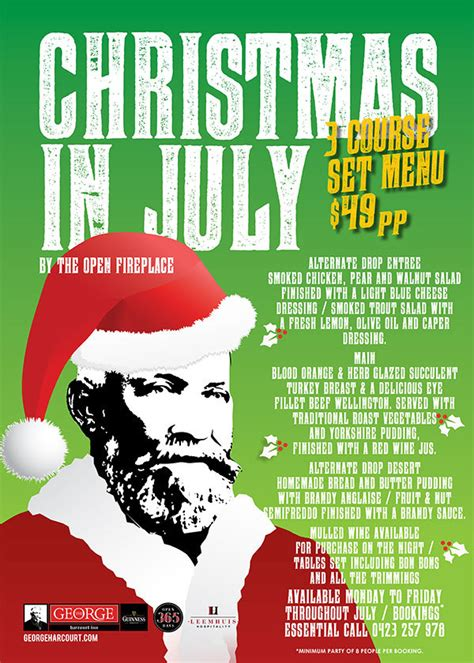 christmas in july christmas in july events in canberra 2016 canberra