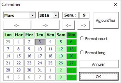 Calendrier Traduction Traduction Du Calendrier Ou De Tout Autre Userform Xl 233 Rateur