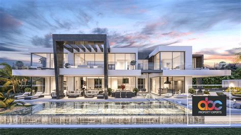 modern villa modern villa for sale in urbanization bel air estepona