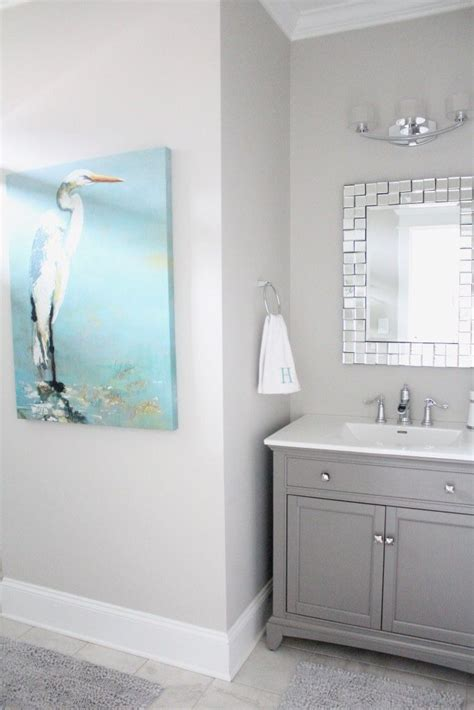 Best Bathroom Colors Sherwin Williams by 25 Best Ideas About Gray Bathroom Paint On