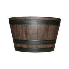 1000 Images About Patio On Pinterest Whiskey Barrels Home Depot Whiskey Barrel Planters