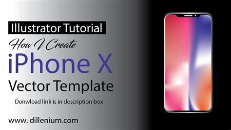 adobe illustrator iphone template iphone x vector template new iphone mockup tutorial in