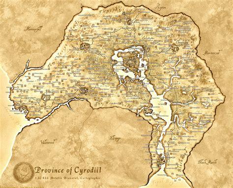 oblivion map elder scrolls oblivion map maps