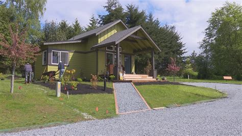 king5 affordable small home opens on vashon