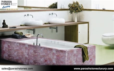 quartz bathtub rose quartz tiles slabs
