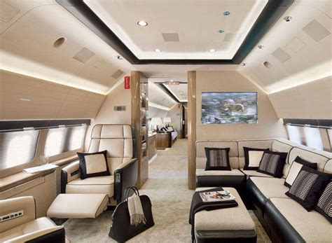 private jet interiors private jet interior aviation pinterest