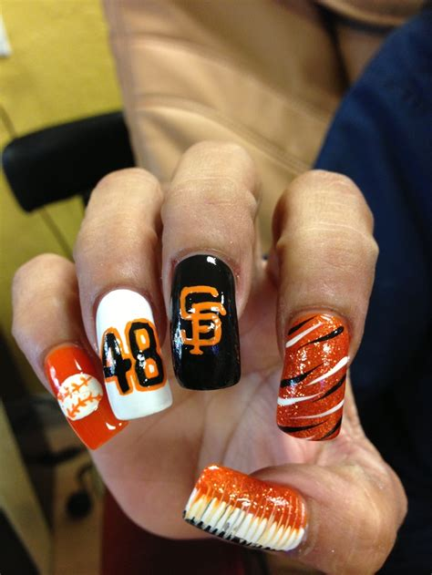 San Francisco Giants Nail san francisco giants nail my teams boise state and