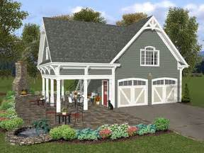 Garage Plan by Garage Loft Plans Two Car Garage Loft Plan With Covered