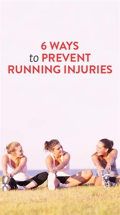 Six Great Ways To Prevent S Health Fitness Workouts 6 Ways To Prevent Running Injuries Because You Don T