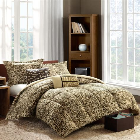 cheetah comforter sets cheetah print