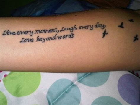 tattoo quotes on the arm arm quotes tattoos for women quotesgram