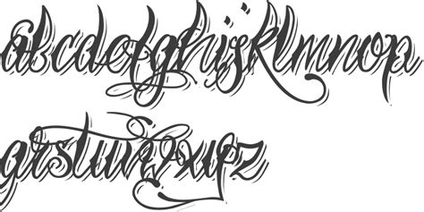 tattoo fonts gangster style image result for gangsta font alphabet roses fonts