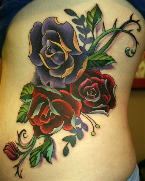50 Beautiful Rose Tattoo Designs For Girls Tattoos Of Roses Pictures
