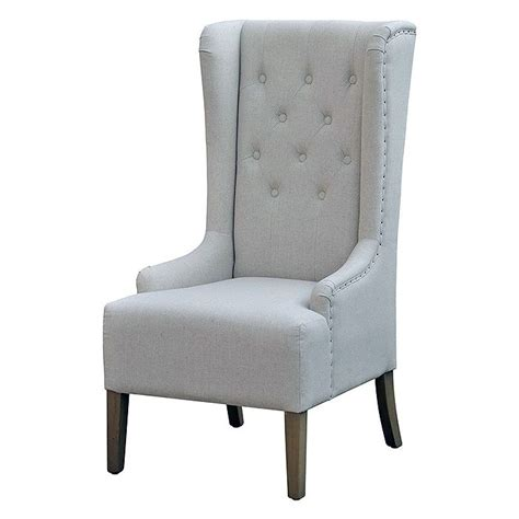 home chair high back winged occasional chair horizon home furniture